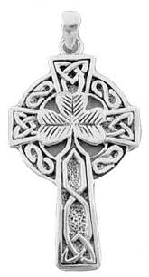 celtic cross with wedding band in middle friendship