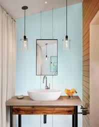 bathroom ideas pendant modern bathroom lighting above single sink