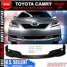 1999 toyota camry front bumper 07 09 toyota camry oe factory se style front bumper lip pu ebay