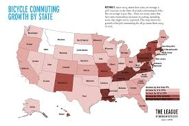 How Many Towns Are In The Us Bicycle Commuting Data League Of American Bicyclists