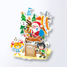roseoftheparty rakuten global market christmas cards 3d cards