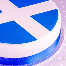 cake toppers countries scotland scottish flag cake topper