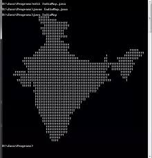 java pattern programs for class 10 how to print the map of india in java programming language quora