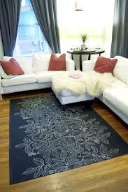 Diy Area Rug From Fabric Diy Dropcloth Rug By Project Home Decor Rugs