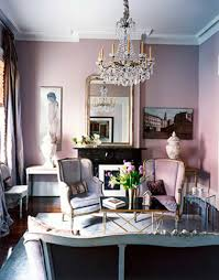 pink living room ideas small and romantic living room with soft pink wall panit mirror