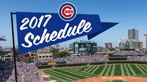 Chicago Cubs Seat Map by Mlb Releases Cubs U0027 2017 Schedule Mlb Com