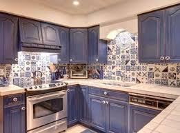 mexican tile kitchen ideas mediterranean kitchen with mexican tile backsplash limestone
