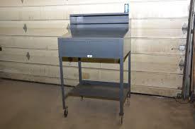 strong hold foreman u0027s stand up shop cabinet desk