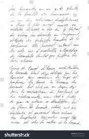 writing paper texture undefined text french words handwritten letter stock photo undefined text with french words handwritten letter handwriting calligraphy manuscript script