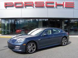 2010 porsche panamera 4s in yachting blue with two tone leather