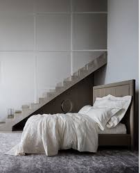 bedroom frette linens and white pillows plus staircase ideas also