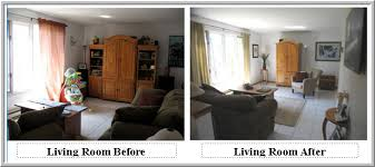 Staging Before And After by Interiors Furniture U0026 Design Living Rooms Before And After
