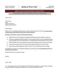 Real Estate Salesperson Resume Real Estate Cover Letter Samples Lukex Co