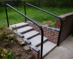 Steps With Handrails New Steps And Handrail Chesterfield Handyman