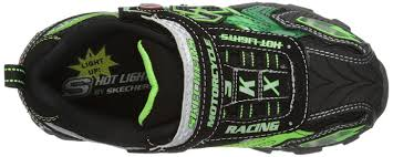 motorcycle shoes with lights amazon com skechers kids 90265l afterburn motorcycle light up