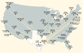 map houston airports map usa png