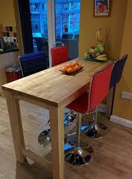 walnut breakfast bar table worktop gallery