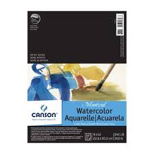 canson artist series montval watercolor pads and blocks at