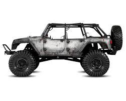 rubicon jeep white freqeskinz axial jeep rubicon primer series body wrap white
