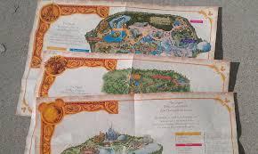 Walt Disney World Map by Free Customized Walt Disney World Or Disneyland Maps Messy Hands
