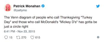 57 thanksgiving tweets that are just gravy