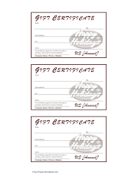 printable romantic gift certificates template gift card template printable