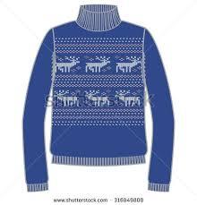 warm womens sweaters winter warm sweater handmade svitshot jumper stock vector