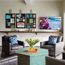 Living Room And Family Room Combo by Home Office Family Room Combo Design Ideas