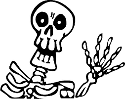 Skeleton Halloween How To Draw A Skeleton For Kids Step By Step Halloween Seasonal