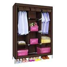 clothes cupboard fancy and portable foldable closet wardrobe cabinet portable