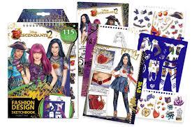 disney descendants 2 fashion design sketchbook make it real