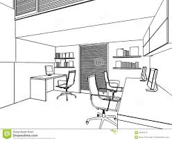 outline sketch of a interior stock illustration image 56834273