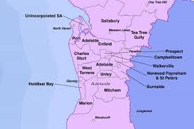 Councils Of Melbourne Map Map Of Adelaide S Metropolitan Councils Abc Australian