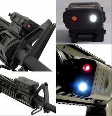 laser and light combo fma pro las peq10 red laser light combo black