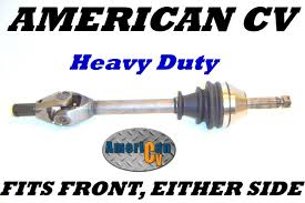 Cv Half Shaft Assembly by Pug Atv Utv 4x4 Model W570a Heavy Duty Front Atv Cv Joint Axle Ebay