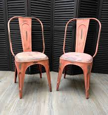 Copper Bistro Chair Furniture Industrial Design Stacking Chairs Galvanitas Wholesale