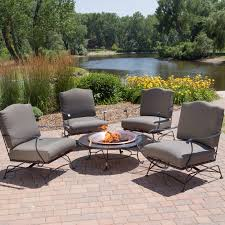 Granite Fire Pit by Red Ember Granite Fire Pit Table With Free Cover Hayneedle