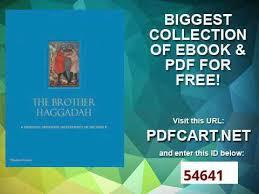 sephardic haggadah pdf the haggadah a sephardi masterpiece in facsimile