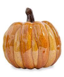ceramic pumpkins another great find on zulily orange majolica ceramic pumpkin