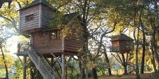chambre d hote cabane dans les arbres les cabanes perchées dans les arbres du menoy à léon dans les landes