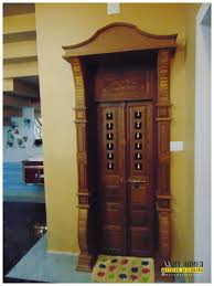 Kerala Pooja Room Door Designs