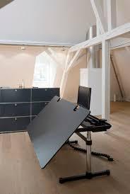 bureau architecte e bureau pour open space en métal en stratifié contemporain