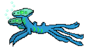 alien sea creature pixel art maker