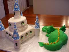 castle and dragon cake back dragon is dark chocolate cak u2026 flickr