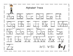 alphabet printables and worksheets clipart 43