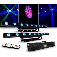 guitar center dj lights chauvet dj lighting package with two colorband led effect lights
