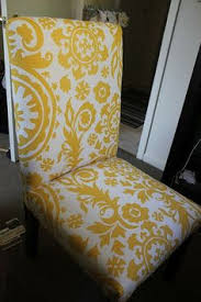 Dining Room Chair Parts by How To Reupholster A Parsons Chair In 7 Easy Steps Youtube