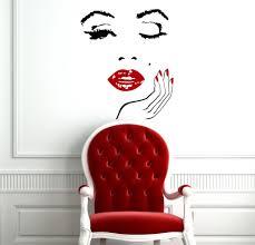 28 salon wall murals wall decal hair salon sign murals salon wall murals monroe wall vinyl decal interior home decor art murals