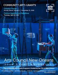 Louisiana travel grants images Arts council new orleans contract forms for 2017 2018 jpg