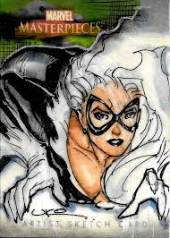 sketch card of the day by uko smith of black cat ukosmith tom u0027s